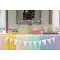"Candy Bar για Βάπτιση ""Sweet Pastel"" με γλυκά βάπτισης & μπουκαλάκια λεμονάδας στην εκκλησία"