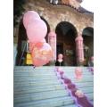 """Μπαλόνια Βάπτισης Στεφανάκια """"Baby Rosegold"""" για στολισμό βάπτισης κοριτσιού"""