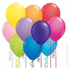 Μπαλόνια με ήλιο - 100 τεμάχια - 850100