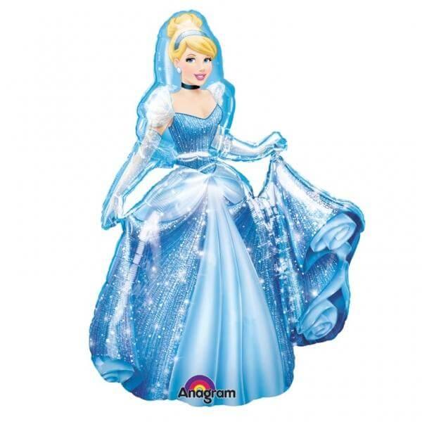 """Μπαλόνι AirWalker® """"Cinderella"""" 121εκ. - Κωδικός: A2347401 - Anagram"""