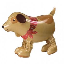 """Μπαλόνι AirWalker® Buddies """"Σκύλος με μπαντάνα"""" 46εκ. - Κωδικός: A2357301 - Anagram"""