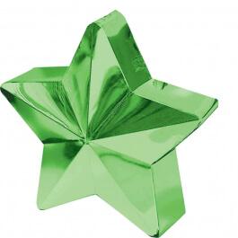 Διακοσμητική βάση αστέρι για μπαλόνια - Πράσινη - Κωδικός: A11780003- Anagram