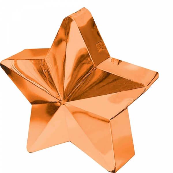 Διακοσμητική βάση αστέρι για μπαλόνια – Πορτοκαλί- Κωδικός: A11780005- Anagram