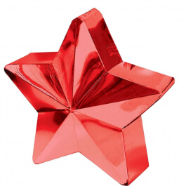 Διακοσμητική βάση αστέρι για μπαλόνια – Κόκκινο- Κωδικός: A11780007- Anagram