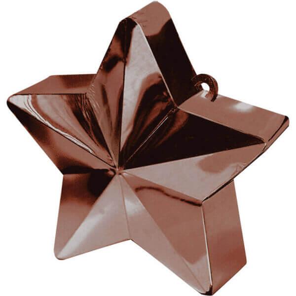 Διακοσμητική βάση αστέρι για μπαλόνια – Καφέ- Κωδικός: A11780017- Anagram