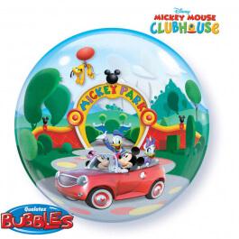 """Μπαλόνι Bubble """"Mickey Club House"""" 56εκ. - Κωδικός: 19027 - Qualatex"""