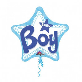 """Μπαλόνι Foil """"Baby Boy 3D"""" 81εκ. - Κωδικός: A3092201 - Anagram"""