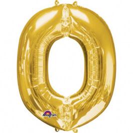 """Γράμμα """"O"""" μικρό - Anagram - χρυσό - A3304101"""