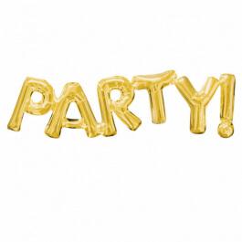 """Λέξη """"Party"""" μεγάλο - Anagram χρυσό - A3376201"""