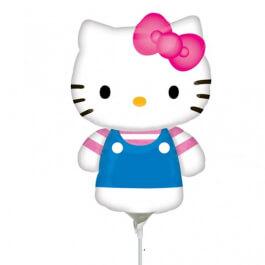 """Μπαλόνι Foil μικρό για στικ """"Hello Kitty Summer"""" 23εκ. - Κωδικός: A2184402 - Anagram"""