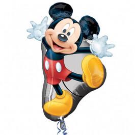 """Μπαλόνι Foil """"Mickey Full Body"""" 55εκ. x 78εκ. - Κωδικός: A2637301 - Anagram"""