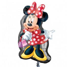 """Μπαλόνι Foil """"Minnie Full Body"""" 81εκ. x 48εκ. - Κωδικός: A2637401 - Anagram"""