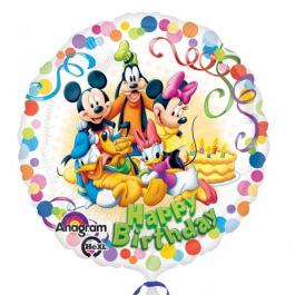 """Μπαλόνι Foil """"Mickey and Friends"""" 45εκ. - Κωδικός: A2900701 - Anagram"""