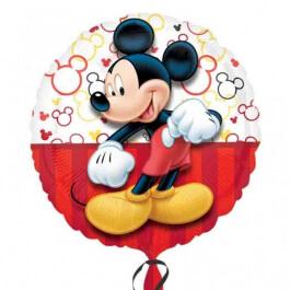 """Μπαλόνι Foil """"Mickey Mouse Portrait"""" 43εκ. - Κωδικός: A3064501 - Anagram"""