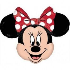 """Μπαλόνι Foil """"Minnie κεφάλι"""" 53εκ. - Κωδικός: A3155002 - Anagram"""
