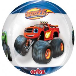 """Μπαλόνι Foil ORBZ Σφαιρικό """"Blaze"""" 43εκ. - Κωδικός: A3450401 - Anagram"""
