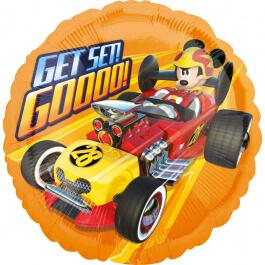 """Μπαλόνι Foil """"Mickey Roadster Get Set Go"""" 43εκ. - Κωδικός: A3622701 - Anagram"""