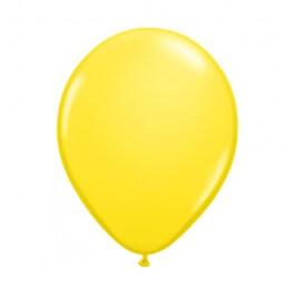 """Μπαλόνια Qualatex """"Κίτρινο"""" 28εκ."""
