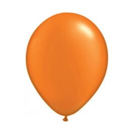 """Μπαλόνια Qualatex """"Περλέ Mandarin Orange"""" 28εκ."""