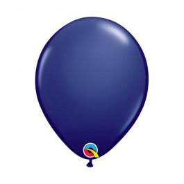 """Μπαλόνια Qualatex """"Navy"""" 28εκ."""