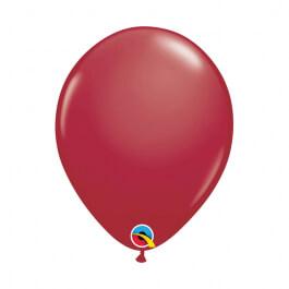"""Μπαλόνια Qualatex """"Maroon"""" 28εκ."""