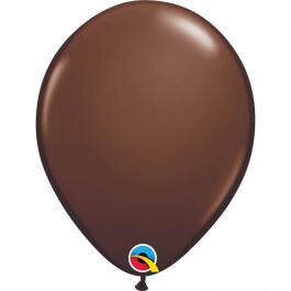 """Μπαλόνια Qualatex """"Chocolate Brown"""" 28εκ."""