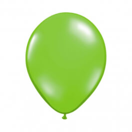 """Μπαλόνια Qualatex """"Διάφανο Λαχανί"""" 28εκ."""