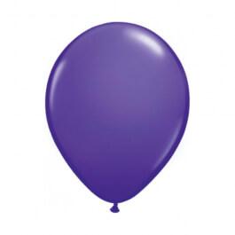 """Μπαλόνια Qualatex """"Purple Violet"""" 28εκ."""