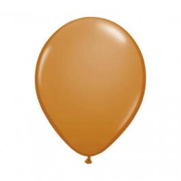 """Μπαλόνια Qualatex """"Mocha Brown"""" 28εκ."""
