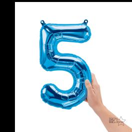 """Νούμερο """"5"""" μικρό - Northstar - μπλε - NN0045701"""