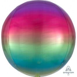 Μπαλόνι Ombre ORBZ σφαιρικό 43εκ. - Rainbow - A3985001
