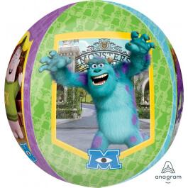 """Μπαλόνι Foil ORBZ σφαιρικό """"Monsters Univercity"""" 43εκ. - A28401"""