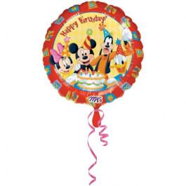 """Μπαλόνι Foil """"Mickey and Friends Birthday"""" 45εκ. - Κωδικός: A0922301 - Anagram"""