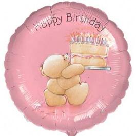 """Μπαλόνι Foil """"Forever Friends Birthday"""" 46εκ. - A1137101"""