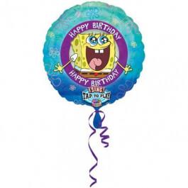 """Μπαλόνι με μουσική """"Spongebob"""" 71εκ. - A1403501"""