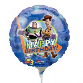 """Μπαλόνι Foil μικρό για στικ """"Toy Story Happy Birthday"""" 23εκ. - A2097909"""