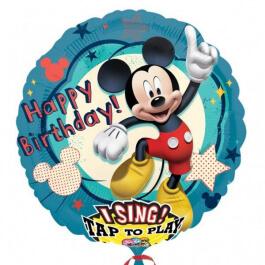 """Μπαλόνι με μουσική """"Mickey"""" 71εκ. - Κωδικός: A2349101 - Anagram"""