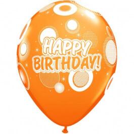 """Μπαλόνια Latex """"Birthday Dots and Glitz"""" 28εκ. - 36987"""