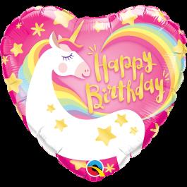 """Μπαλόνι Foil """"Birthday Magical Unicorn"""" 46εκ. - 57319"""