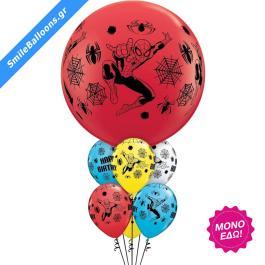 """Μπουκέτο μπαλονιών """"Giant Spider Man Birthday Bouquet"""" - 9503085"""