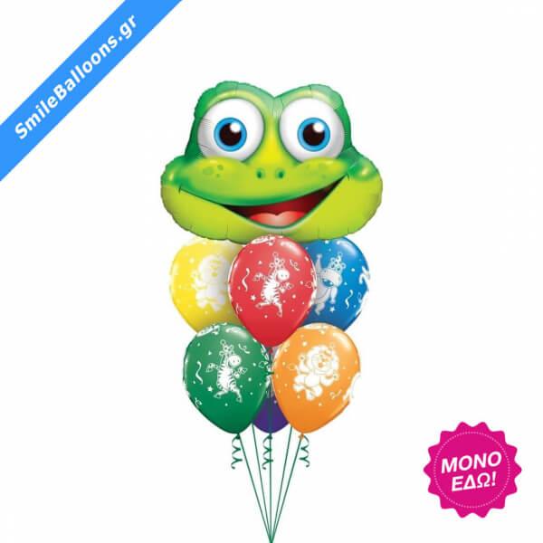 """Μπουκέτο μπαλονιών """"Hoppin Party"""" - Κωδικός: 9503111 - SmileStore"""