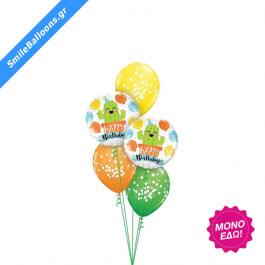 """Μπουκέτο μπαλονιών """"Potted Cactus Birthday Party"""" - Κωδικός: 9503139 - SmileStore"""