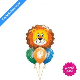 """Μπουκέτο μπαλονιών """"Roaring Party"""" - Κωδικός: 9503146 - SmileStore"""