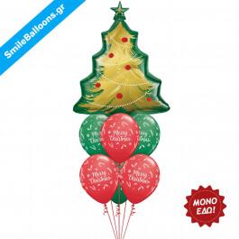 """Χριστούγεννα - Μπουκέτο μπαλονιών """"Trim Up The Tree"""" - Κωδικός: 9504005"""