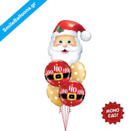 """Χριστούγεννα - Μπουκέτο μπαλονιών """"Jolly Old Elf"""" - Κωδικός: 9504031"""