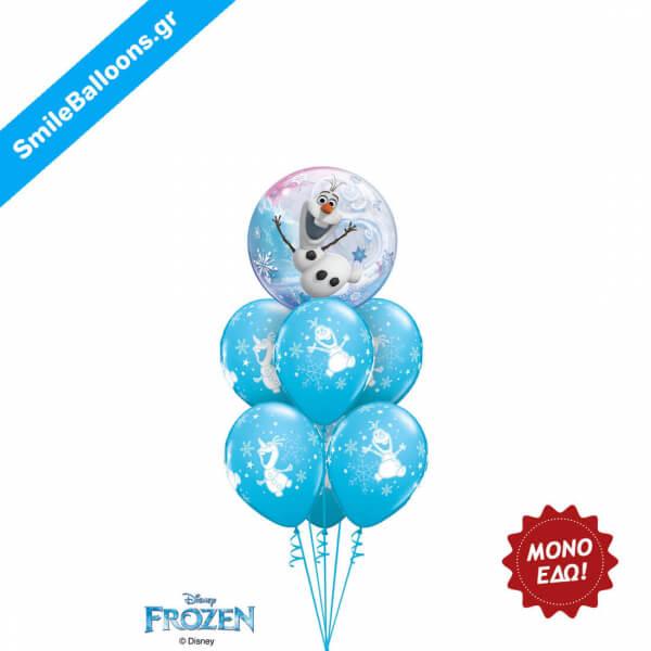 """Χριστούγεννα - Μπουκέτο μπαλονιών """"Dancing Olaf Delight"""" - Κωδικός: 9504039"""