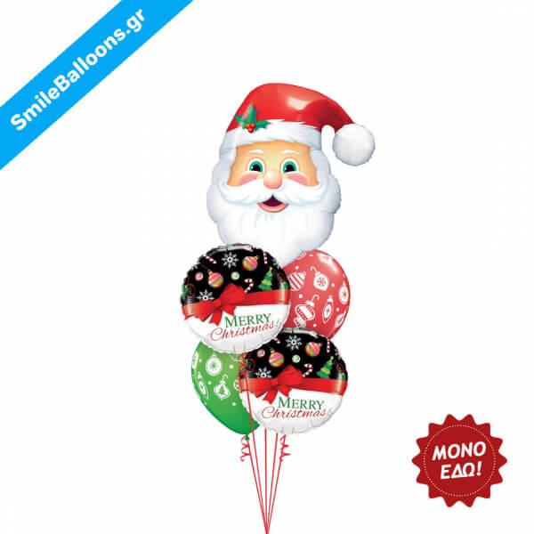 """Χριστούγεννα - Μπουκέτο μπαλονιών """"Christmas Checklist"""" - Κωδικός: 9504047"""