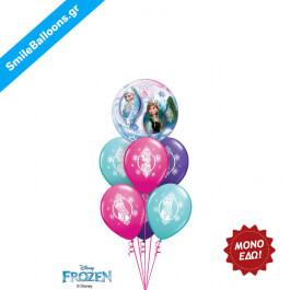 """Χριστούγεννα - Μπουκέτο μπαλονιών """"Anna Elsa FROZEN Christmas"""" - Κωδικός: 9504053"""