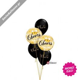 """Μπουκέτο μπαλονιών """"Pop. Fizz. Clink."""" - Κωδικός: 9522037 - SmileStore"""