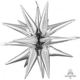 """Μπαλόνι Foil """"Multi Magic Star"""" 88εκ. - Κωδικός: A3950401 - Anagram"""